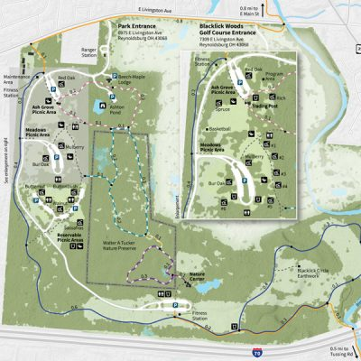 Blacklick Woods Park Map