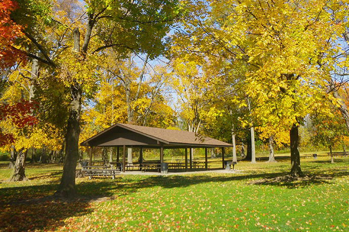 Maple Grove Picnic Area at Sharon Woods Metro Park