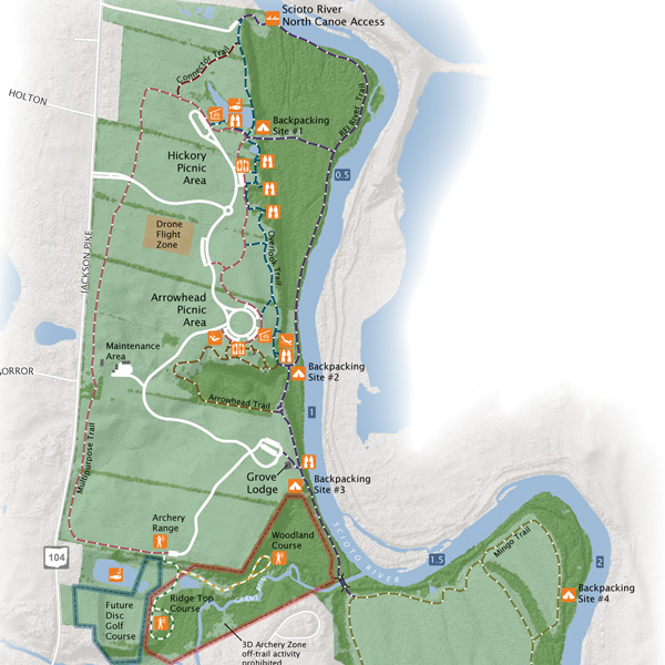 Scioto Grove Park Map